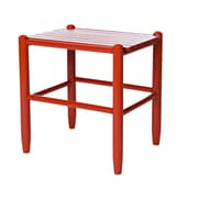 Dixie Seating Franklin Side Table; Sienna Red