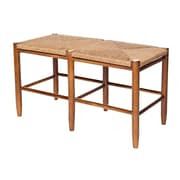 Dixie Seating South Port Wood Bench; Medium Oak