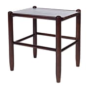 Dixie Seating Franklin Side Table; Walnut
