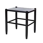 Dixie Seating Franklin Side Table; Black