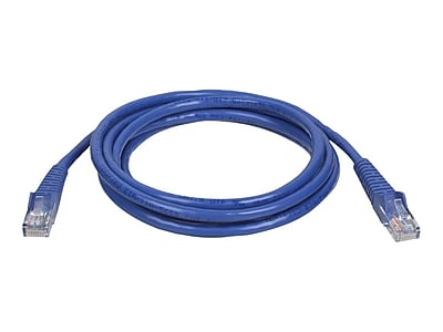 Tripp Lite patch cable, 5 ft, blue