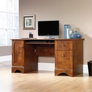 Sauder Computer Desk, Brushed Maple