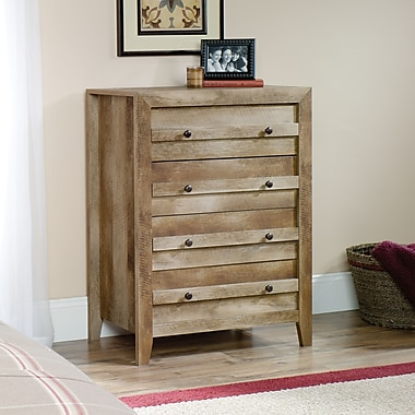 Sauder Dakota Pass 4-Drawer Chest, Craftsman Oak (418175)