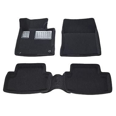 Findway – Tapis de plancher 3D (01050BB) pour berlines/sportives Acura TSX 2009-2014, noir