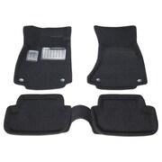 Findway – Tapis de plancher 3D (06080BB) pour berlines/sportives Audi A4/S4/RS4 2009-2016, noir