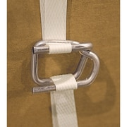 "Seals Buckles for Polypropylene Strapping, PA502, Strap Width - 1/2"", 2000/Pack"