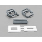 "Seals Buckles for Polypropylene Strapping, PA498, Strap Width - 1/2"", 2000/Pack"