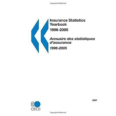 Insurance Statistics Yearbook 1996-2005, New Book (9789264034655)