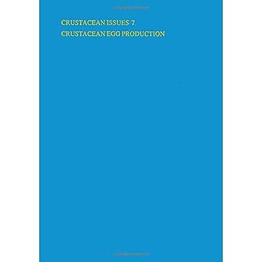 Crustacean Egg Production Crustacean Issues, New Book (9789061910985)