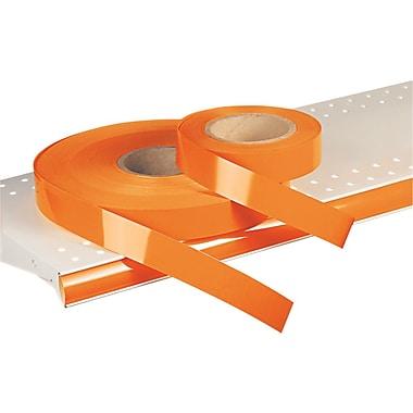 KostklipMD – Étiquette de prix colorée ShelfLifeMC, non imprimée, 1,25 po, orange, 500 pi/rouleau (26SL-101114)