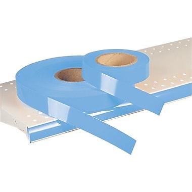 Kostklip® – Bandelette-étiquette ShelfLife™ pour porte-prix, non imprimées, 1,25 po, bleu pâle, 500 pi/rouleau (26SL-100275)