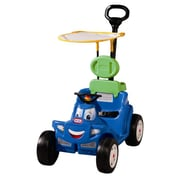 Little Tikes Deluxe 2-in-1 Cozy Roadster Push & Scoot Ride-On