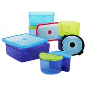 Fit & Fresh Kid's 7 Container Food Storage Set