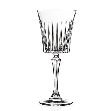 Lorren Home Trends Timeless White Wine Glass (Set of 6)