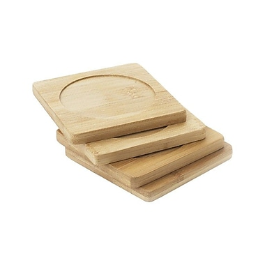 Natural Home Bamboo Coaster (Set of 4)