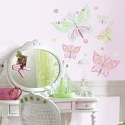 Room Mates Waverly Butterfly Peel and Stick Giant Wall Decal