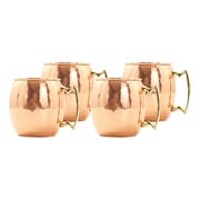 Stanley Roberts Moscow Mule 18 oz. Hammered Mug (Set of 4)