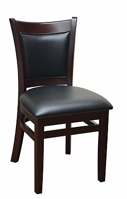 DHC Furniture Side Chair; Black