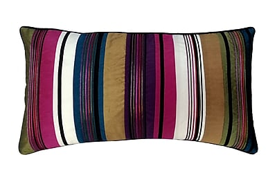 Edie Inc. Cord Feather and Down Lumbar Pillow; Bright