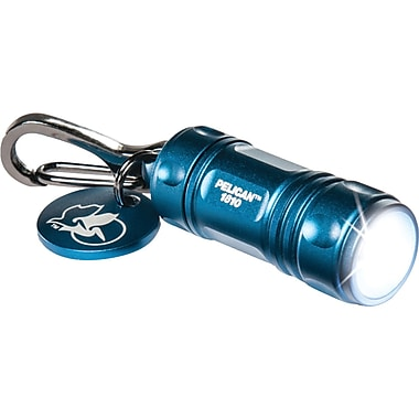 Pelican 16 Lumen ProGear LED Keychain Flashlight, Blue (PLO1810120)