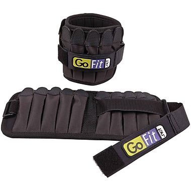 Gofit Padded Adjustable Pro Ankle Weights (GOFGFP10W)