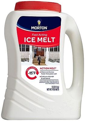 Morton® Action Melt® Fast Action Ice Melt, 12 lb.