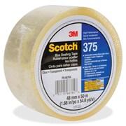 """Scotch Box-Sealing Tape, 1.89"""" W x 54.68 yd L, 3"""" Core, 36 Carton"""