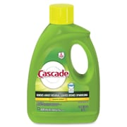 Cascade 2-in-1 Dishwasher Detergent Gel, Lemon Scent, 4/Carton (28193)
