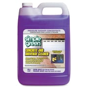 Simple Green Concrete/Driveway Cleaner Concentrate, Liquid Solution, 1 gal (128 fl oz), 1 Each (SMP18202)