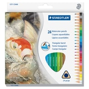 Staedtler Watercolour Pencils Set, 2.9 mm Lead Size, Assorted Lead, Wood Barrel, 48 / Box