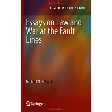 Essays On Law And War At The Fault Lines, New Book (9789067047395)