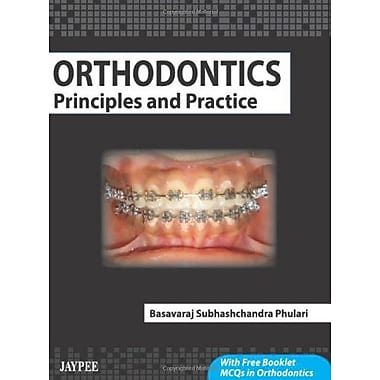 Orthodontics Principles And Practice With Free Booklet Mcqs In Orthodontics (9789350252420)