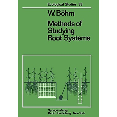 Methods Of Studying Root Systems Ecological Studies, Used Book (9783642672842)