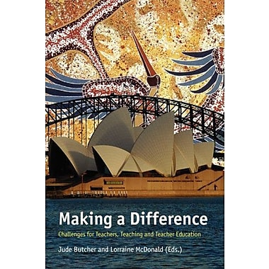 Making A Difference Challenges For Teachers Teaching And Teacher Education, New Book (9789087901325)
