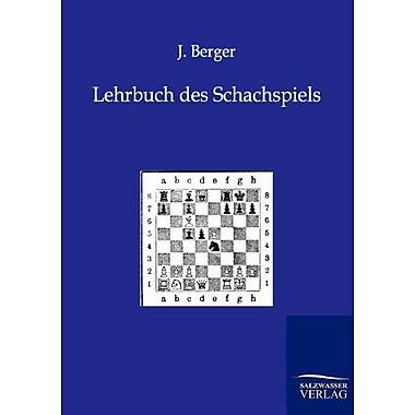 Lehrbuch Des Schachspiels German Edition (9783943293043)