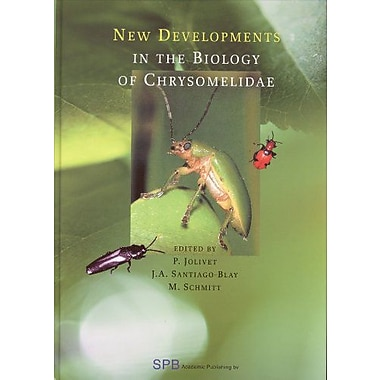 New Developments In The Biology Of Chrysomelidae, New Book (9789051031423)