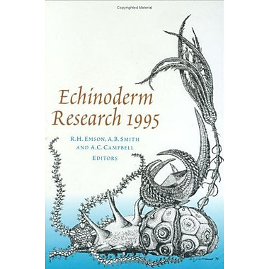 Echinoderm Research 1995, Used Book (9789054105961)