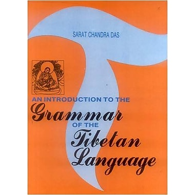 Introduction To The Grammar Of The Tibetan Language (9788120812116)