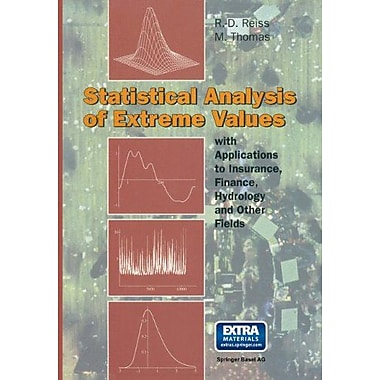 Statistical Analysis Of Extreme Values From Insurance Finance Hydrology And Other Fields, New Book (9783764357689)