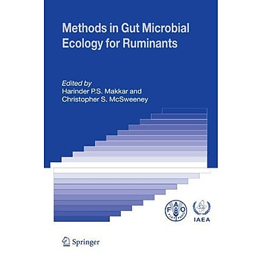 Methods In Gut Microbial Ecology For Ruminants (9789048169665)