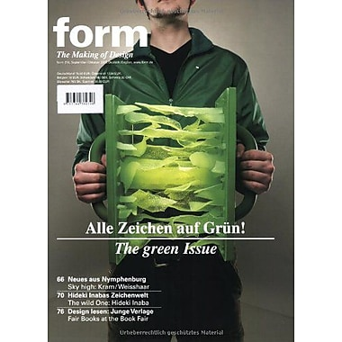 Form 216 Zeitschrift Form German And English Edition (9783764384746)