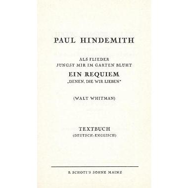 Ein Requiem Denen Die Wir Lieben English-German Libretto, New Book (9783795733742)