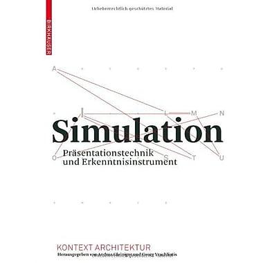 Simulation Kontext Architektur German Edition, New Book (9783764386856)