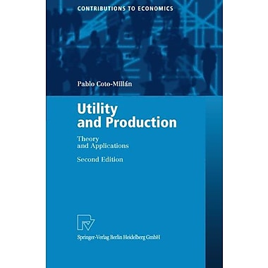 Utility And Production, Used Book (9783790814231)