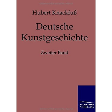 Deutsche Kunstgeschichte German Edition, New Book (9783861957423)