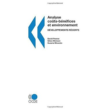 Analyse Coucircts-Benefices Et Environnement Developpements Recents French Edition (9789264010062)