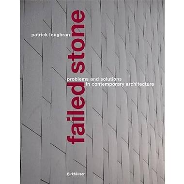 Failed Stone, Used Book (9783764373290)