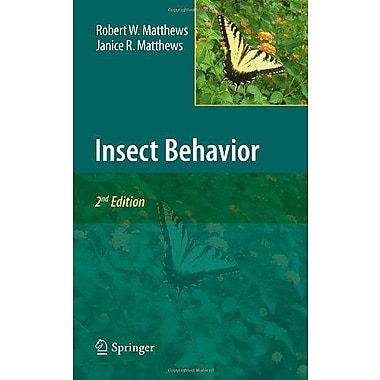 Insect Behavior, New Book (9789048123889)