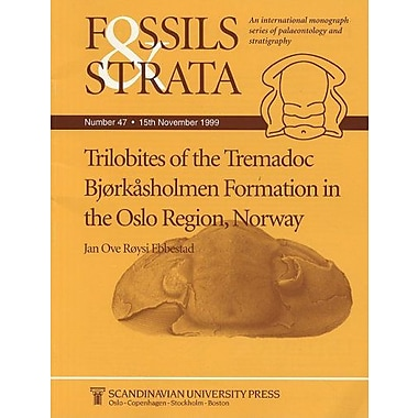 Fossils And Strata Trilobites Of The Tremadoc Bjorkasholmen Formation In The Oslo Region Norway Fossil, New Book (9788200377023)
