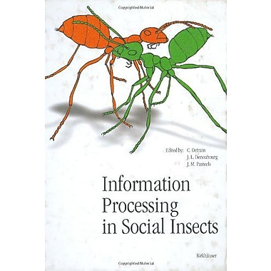 Information Processing In Social Insects, Used Book (9783764357924)